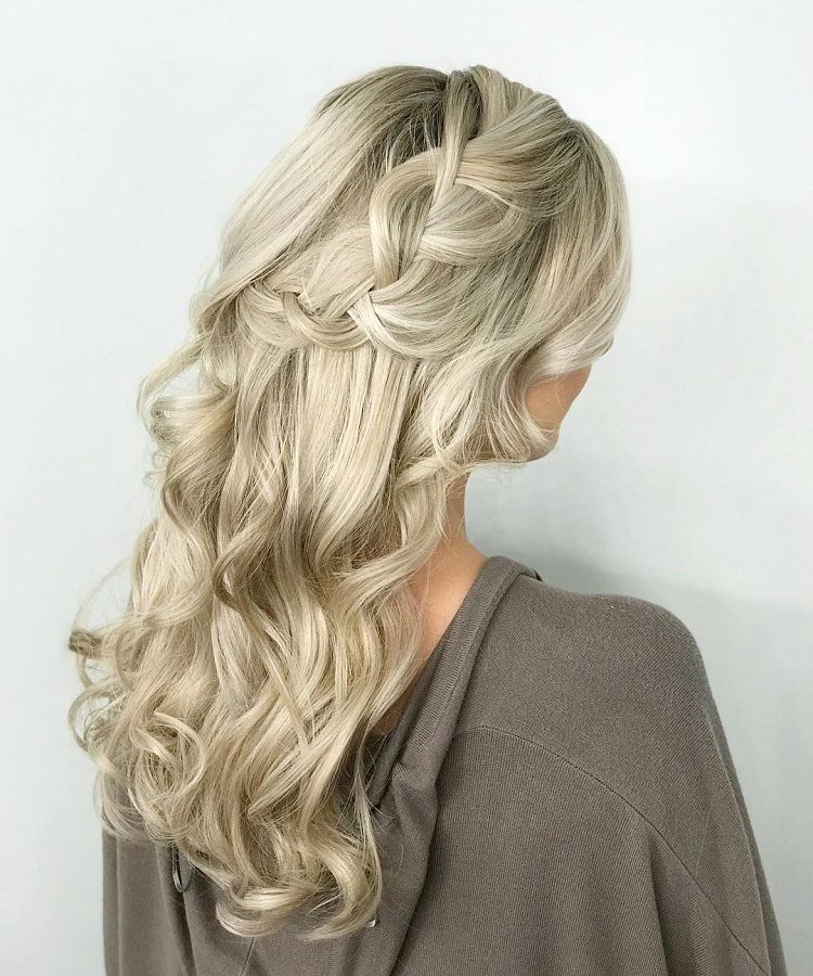 Gorgeous Ways To Wear Your Hair Down For Your Wedding