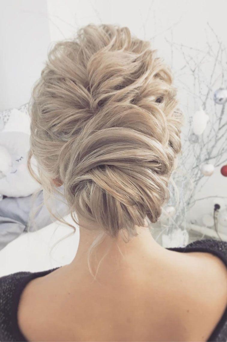 Gorgeous chignon wedding hairstyle to inspire you