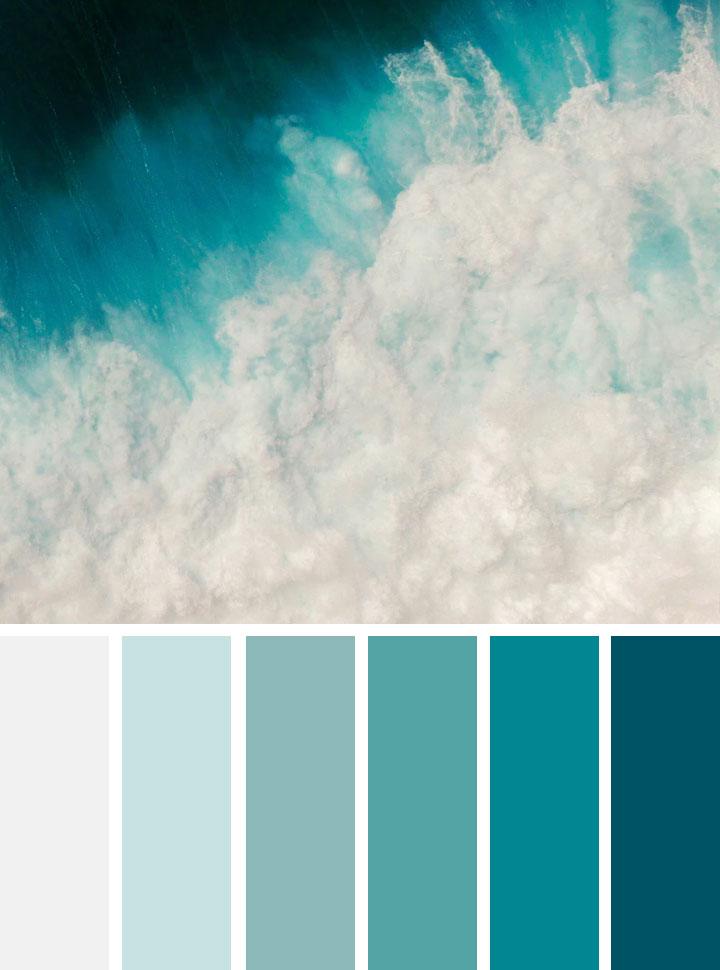 Green ocean color scheme