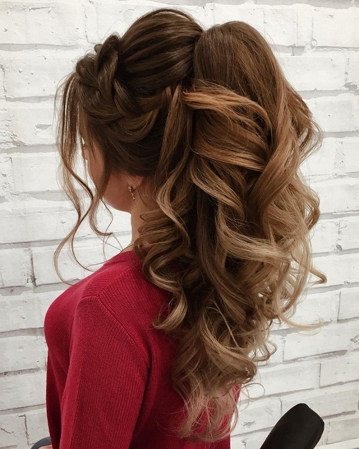 Gorgeous Ponytail Hairstyle Ideas That Will Leave You In FAB - Fabmood | Wedding Colors, Wedding ...