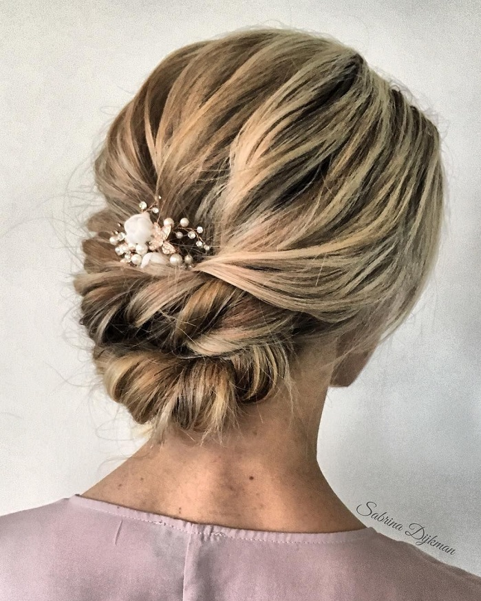 Up Hairdos For Thin Hair: 55 Amazing Updo Hairstyle With The Wow Factor