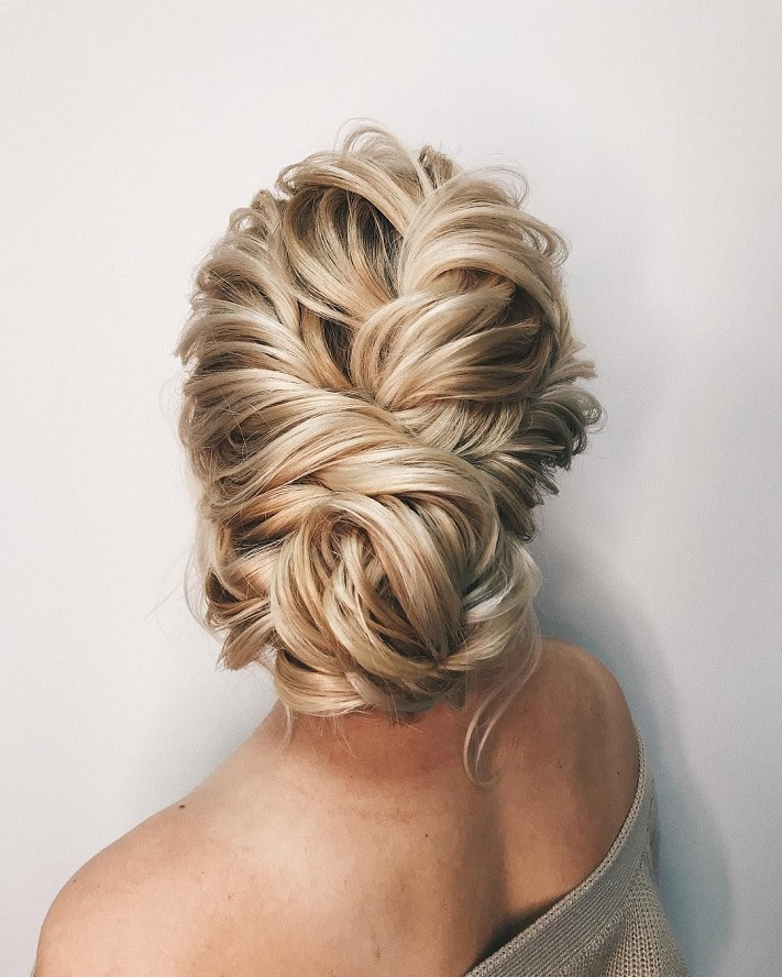 Wedding Hair Color Ideas: 55 Amazing Updo Hairstyle With The Wow Factor