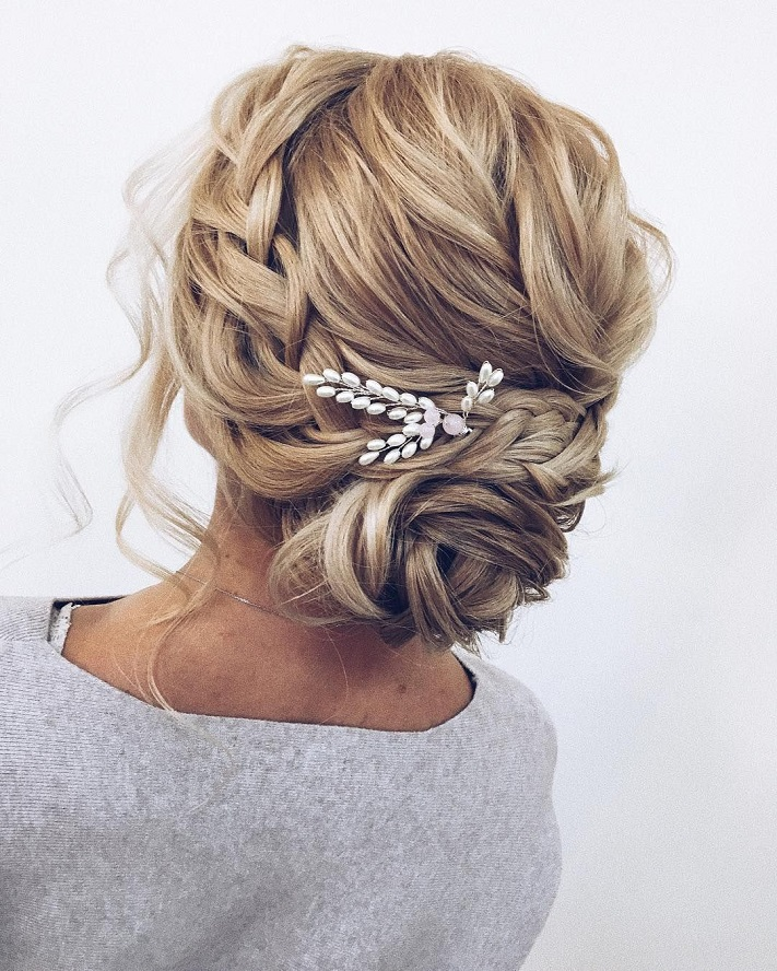 Curly Hair Wedding Diy: Gorgeous Updo Hairstyle That You'll Love To Try