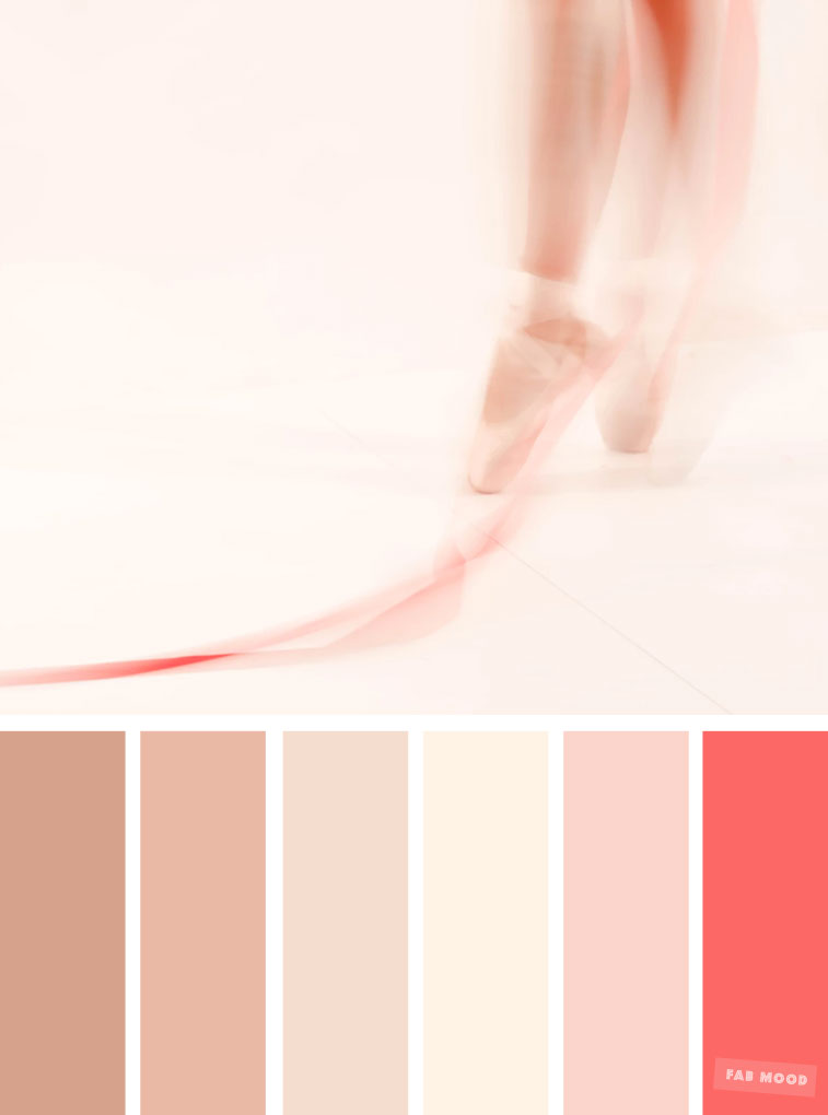 Blush tones : Pretty blush color scheme