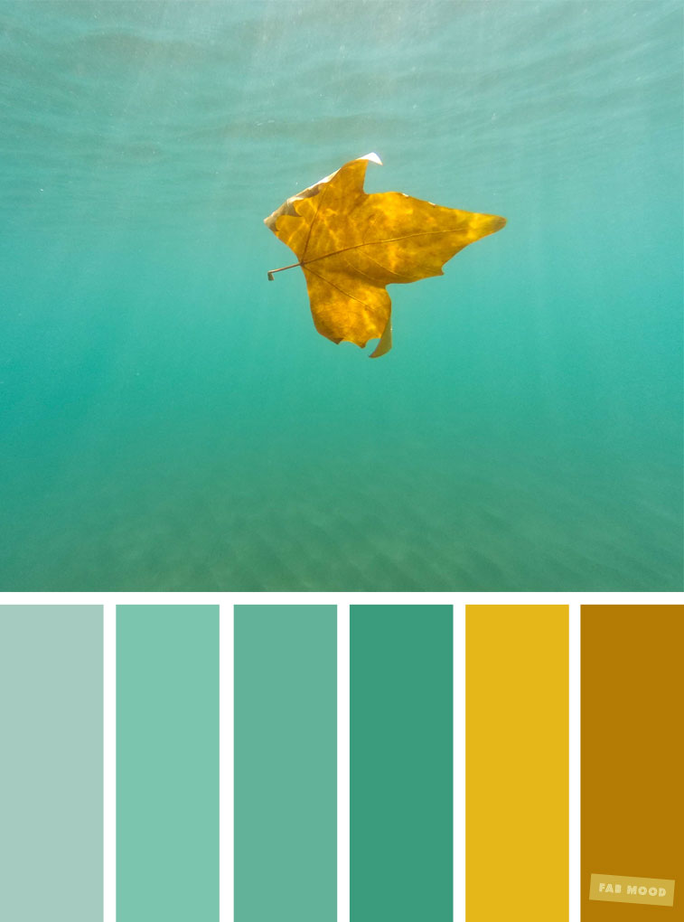 Green and yellow color combination , sea green color ...