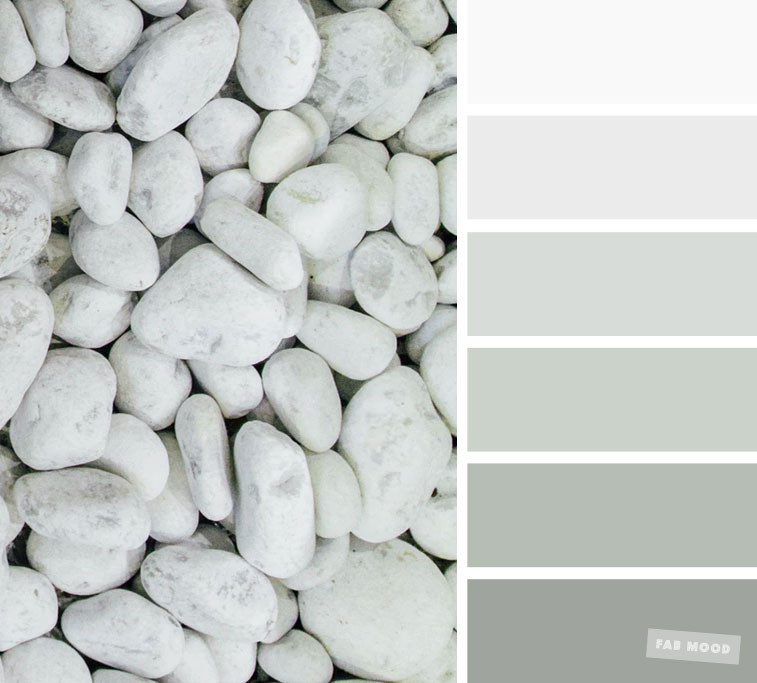 Color Inspiration : Grey and sage color palette