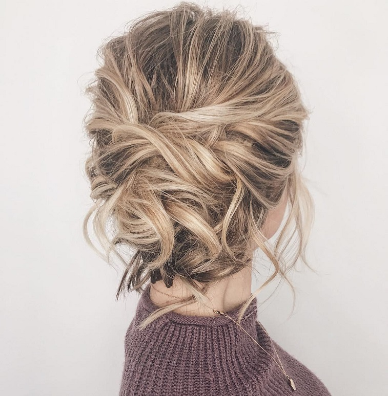 Wedding Hair Updo Messy: 79 Beautiful Bridal Updos Wedding Hairstyles For A