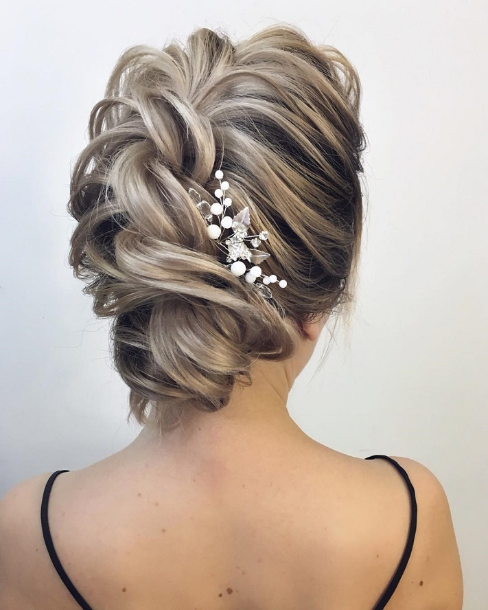 Effortlessly Chic Wedding Hairstyle Inspiration: 79 Beautiful Bridal Updos Wedding Hairstyles For A