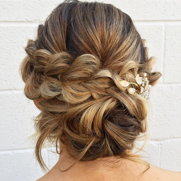 79 Beautiful Bridal Updos Wedding Hairstyles For A