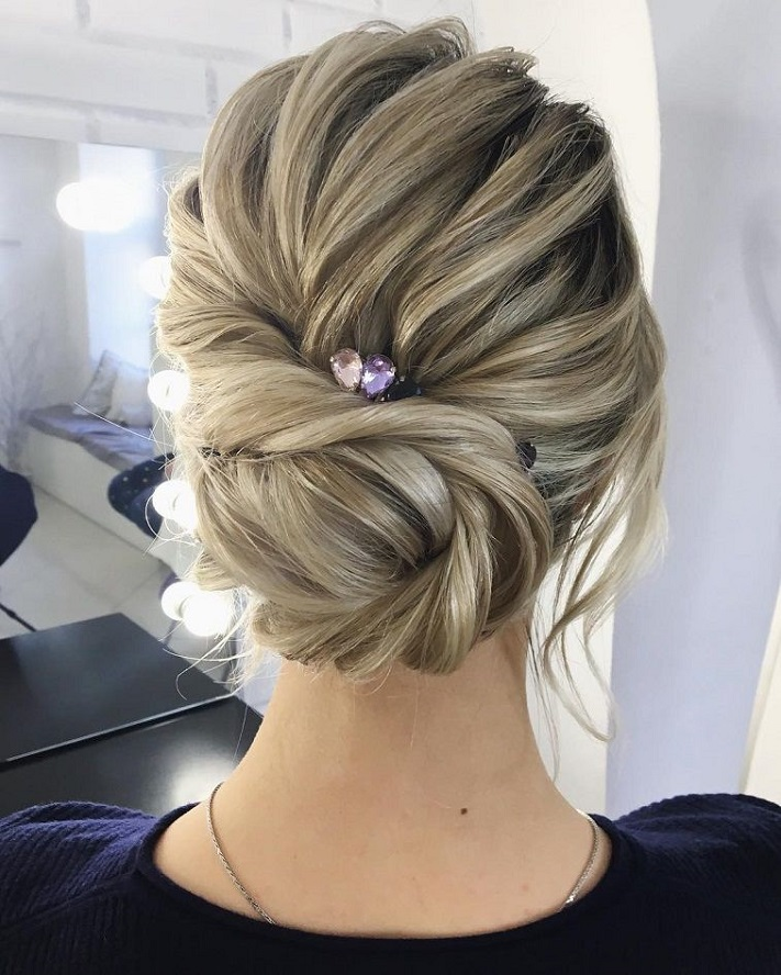 79 beautiful bridal updos wedding hairstyles for a romantic bridal 79 beautiful bridal updos wedding hairstyles for a romantic bridal junglespirit Images