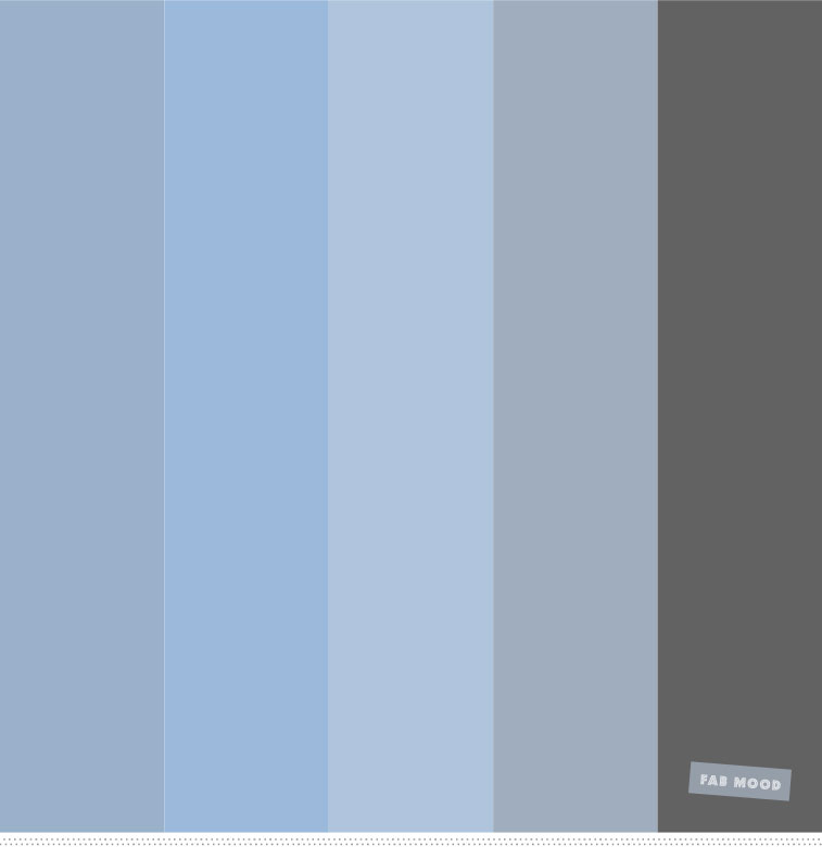 Blue and grey color palette #color #palette #colorinspiration