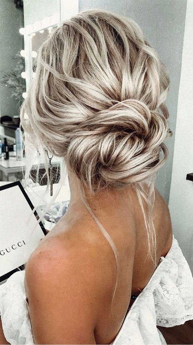 bridal updo hairstyle, elgant bridal hairstyle,updo hairstyles ,wedding hairstyles #weddinghair #hairstyles #updo #hairupstyle messy updo