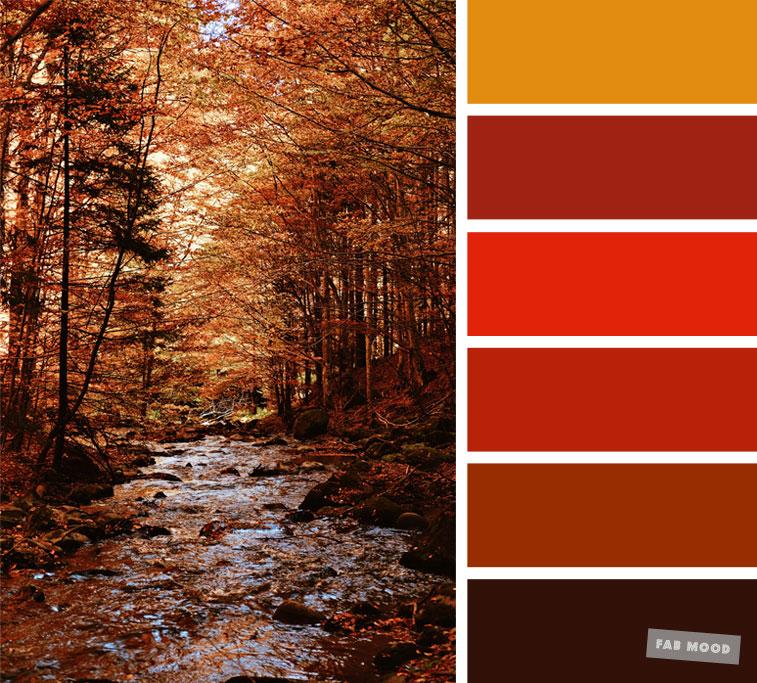 59 Pretty Autumn Color Schemes { Burnt orange + Brown } color palette #color #colorscheme #colorpalette #fall #autumncolour #autumn #fallcolor