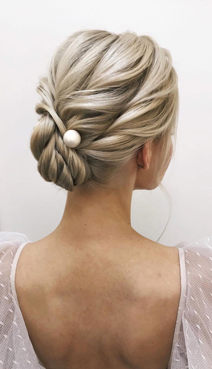 100 Prettiest Wedding Hairstyles For Ceremony & Reception - Fabmood ...