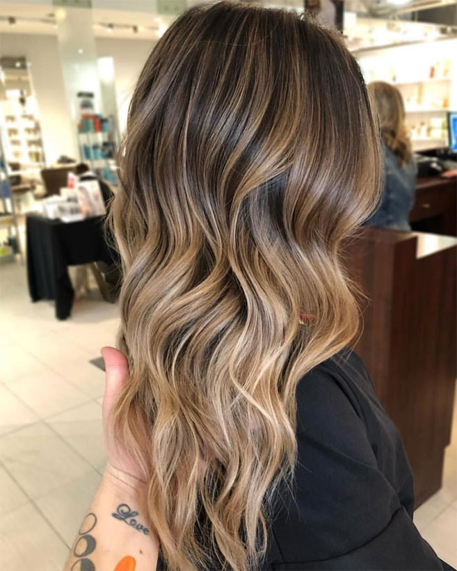 49 Beautiful light brown hair color for a new look - The Best Hair Colour Ideas For A Change-Up This Year, Gorgeous Balayage Hair Color Ideas - brown Balayage Highlights,Beachy balayage hair color ##balayage #blondebalayage #hairpainting #hairpainters #bronde #brondebalayage #highlights #ombrehair