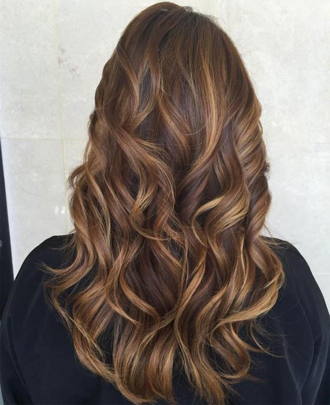 49 Beautiful light brown hair color for a new look