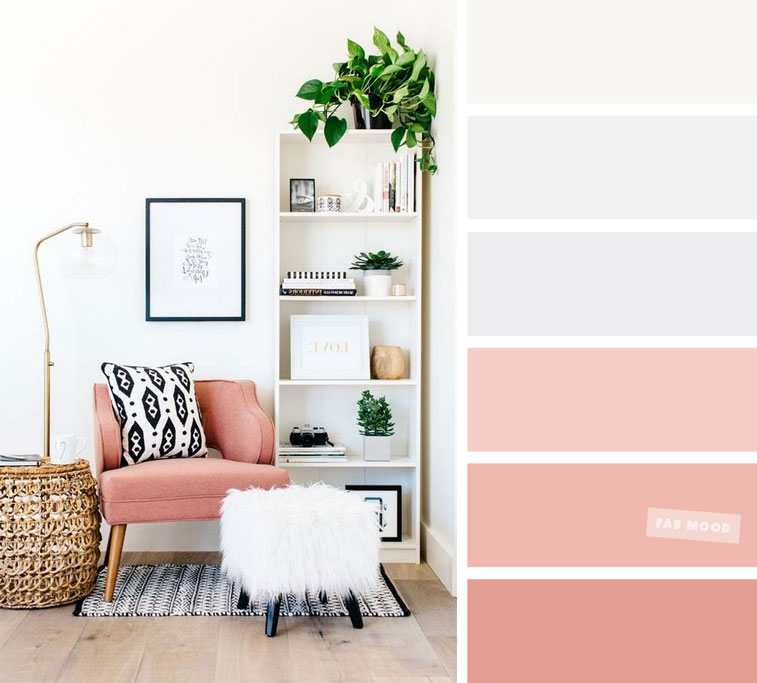 Blush Pink – The Best Living Room Color Schemes