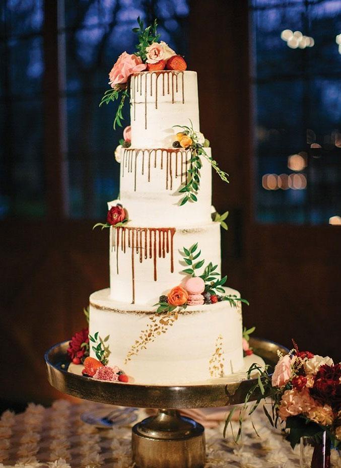 32 Jaw-Dropping Pretty Wedding Cake Ideas