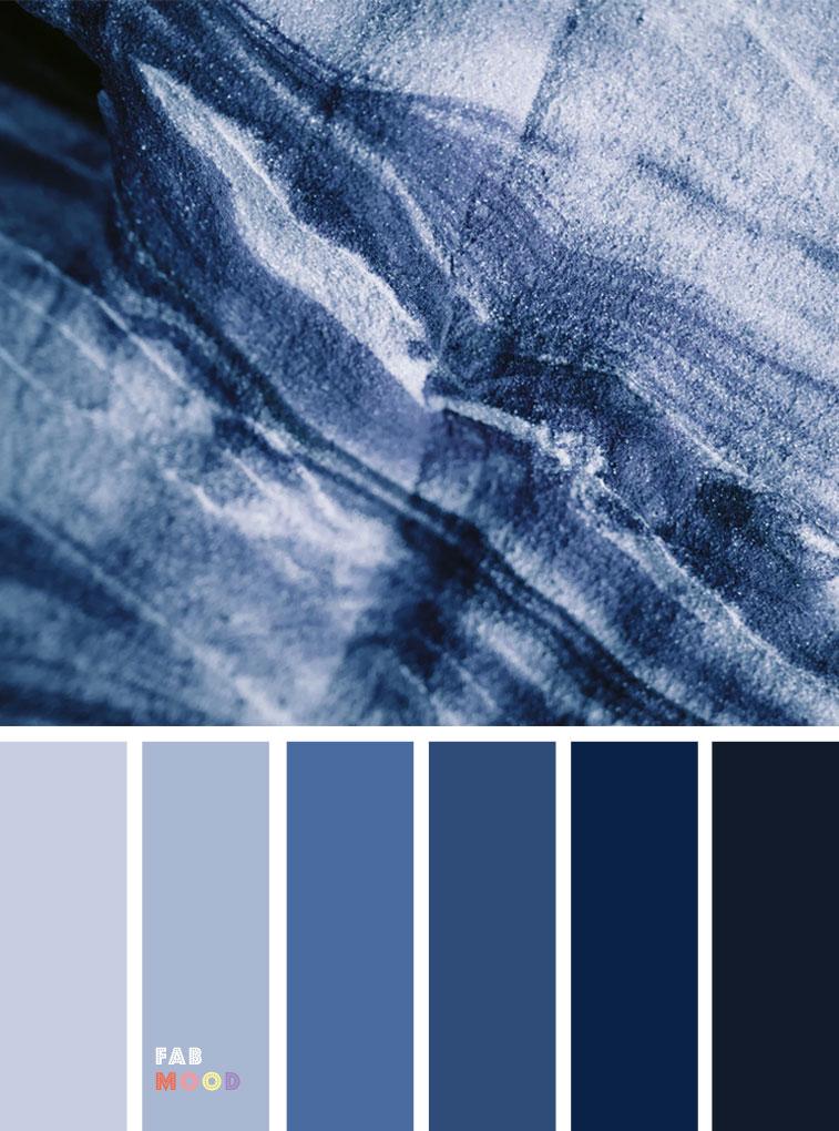 33 Pretty Winter Color Schemes { Dark Blue + Grey } color palette #color #colorscheme #colorpalette #winter #wintercolour #winter #wintercolor