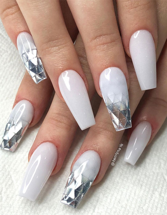 40 Fabulous Nail Designs That Are Totally in Season Right Now - nail art designs,almond nail art design, acrylic nail art, nail designs with glitter #nail #nailart #acrylic