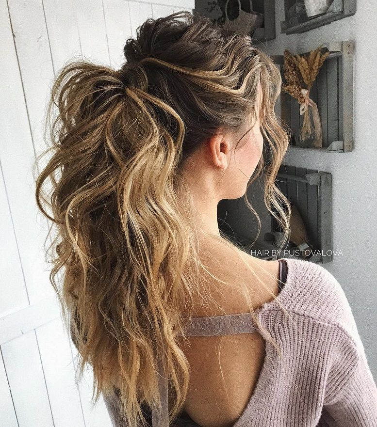 20 Inspiration Low Bun Hairstyles For Wedding 2019 2020: 53 Best Ponytail Hairstyles { Low And High Ponytails } To