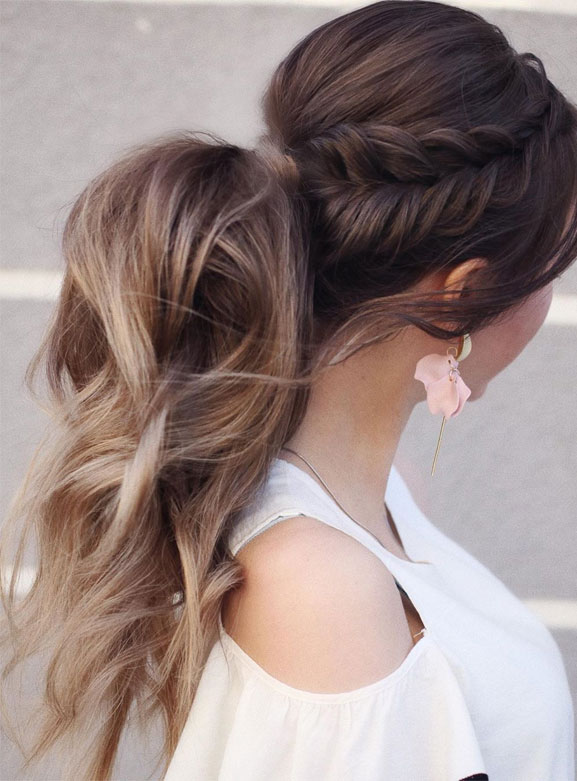 Surprising 53 Best Ponytail Hairstyles Low And High Ponytails To Inspire Natural Hairstyles Runnerswayorg