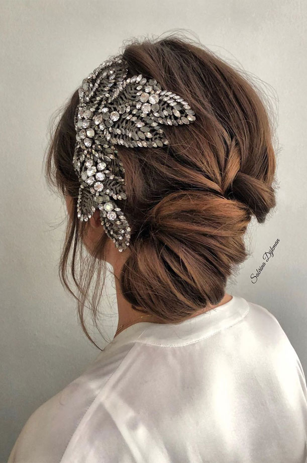 😍💓 These 100 Prettiest Wedding Hairstyles perfect for both wedding Ceremony and Reception 💓💓 Braid , bridal hairstyle,wedding updo hairstyles ,wedding hairstyles #weddinghair #hairstyles #updo #hairupstyle #hair