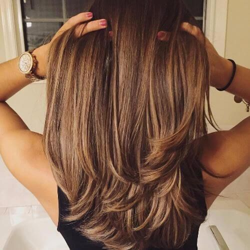 brown Balayage Highlights,Beachy balayage hair color #balayage #blondebalayage #hairpainting #hairpainters #bronde #brondebalayage #highlights #ombrehair