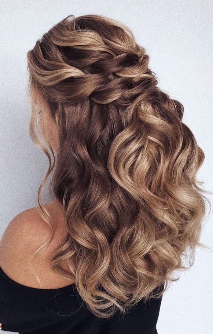 43 Gorgeous Half Up Half Down Hairstyles That Perfect For ...