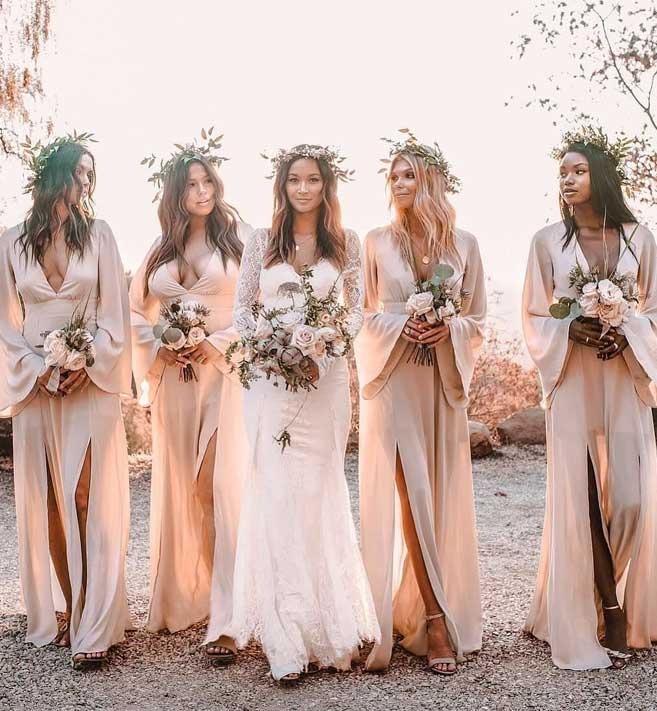 29 Gorgeous Wedding Colors For 2019 With Bridesmaid Dresses,Best Wedding Dress Designers 2020
