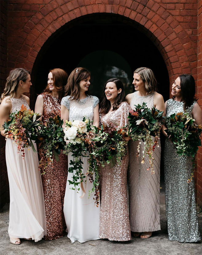 29 Gorgeous Wedding Colors For 2019 With Bridesmaid Dresses