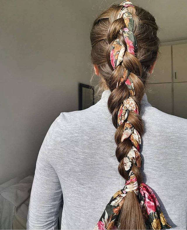 45 Pretty Ways To Style Your Hair With A Scarf Easy Hairstyle With Scarf How To Wear A Hair Scarf Ponytail Head Scarf Styles For Short Hair Cute Ways To Wear A