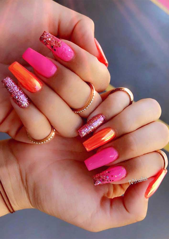 Try These Fashionable Nail Ideas That'll Boost Your Mood
