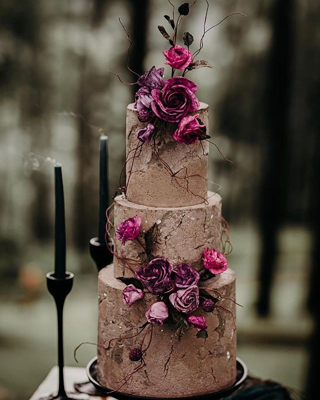 Beautiful Wedding Cake, wedding cake ideas,stone textured wedding cake, three tier wedding cake #wedding #weddingcake #cake #rusticweddingcake
