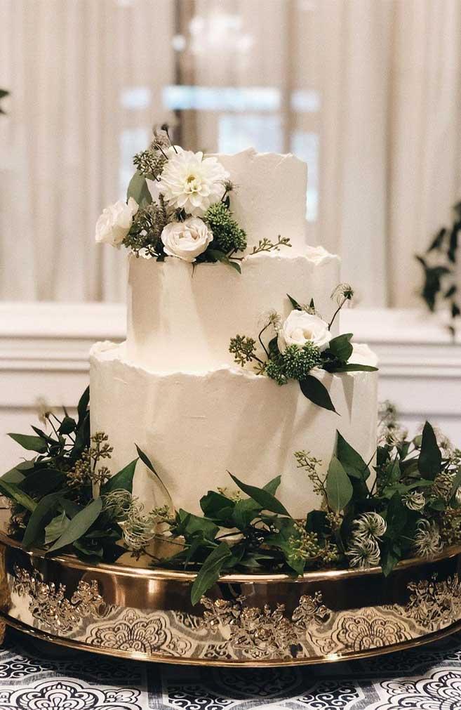 The 50 Most Beautiful Wedding Cakes – White wedding cake