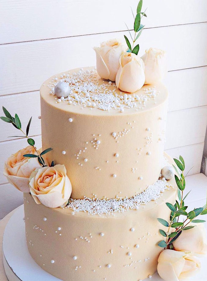 The 50 Most Beautiful Wedding Cakes – Two tier wedding cake