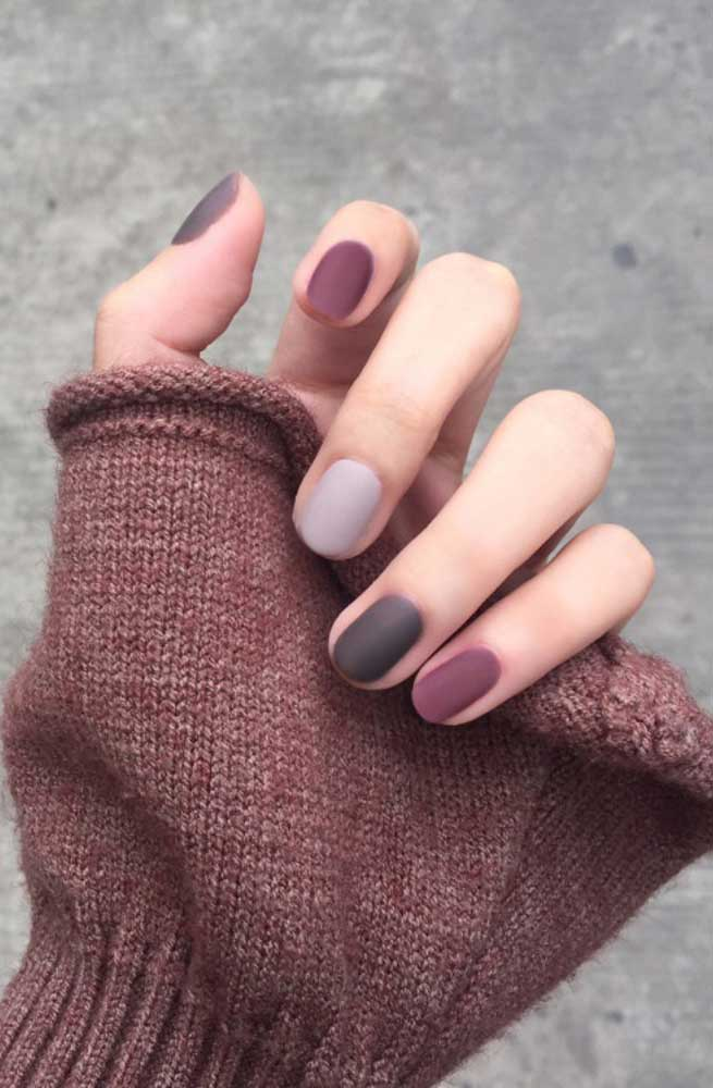 49 nail art designs that perfect for fall and winter, coffin nail art designs, almond nail art design, acrylic nail art, nail designs with glitter #nail #nailart #acrylic, fall nail art designs, nail art designs 2019, beautiful nail art designs images, latest nail art designs gallery