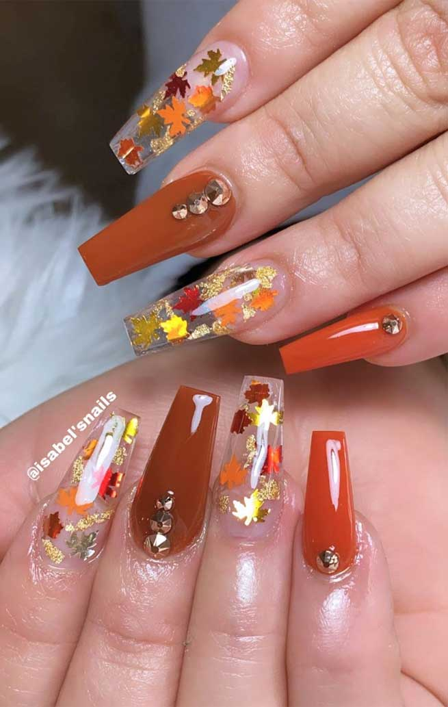 Try These Fashionable Nail Ideas That\u0027ll Boost Your Fall