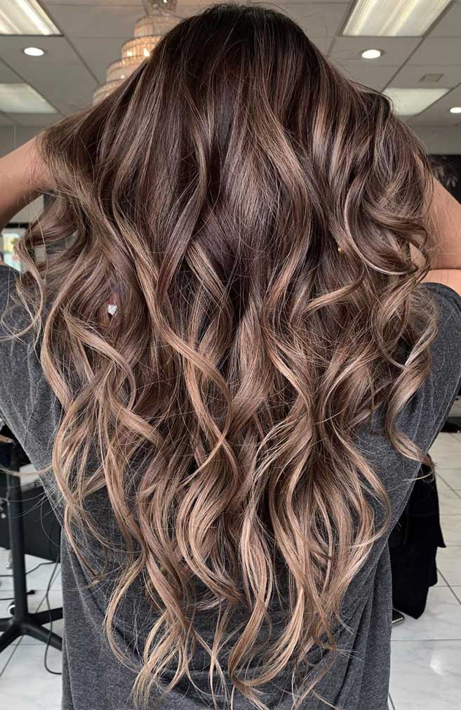 balayage hair color, light brown hair color ideas, hair colours 2019, 2019 hair color trends, best hair color for 2019, fall hair colors 2019, best hair color for 2019, hair color ideas for brunettes, light brown hair #hairpainting #hairpainters #bronde #brondebalayage #highlights #ombrehair brown hair color with highlights, chocolate brown hair color, shades of brown hair color, medium brown hair color, brown hair ,fall hair color, brown hair colors 2019