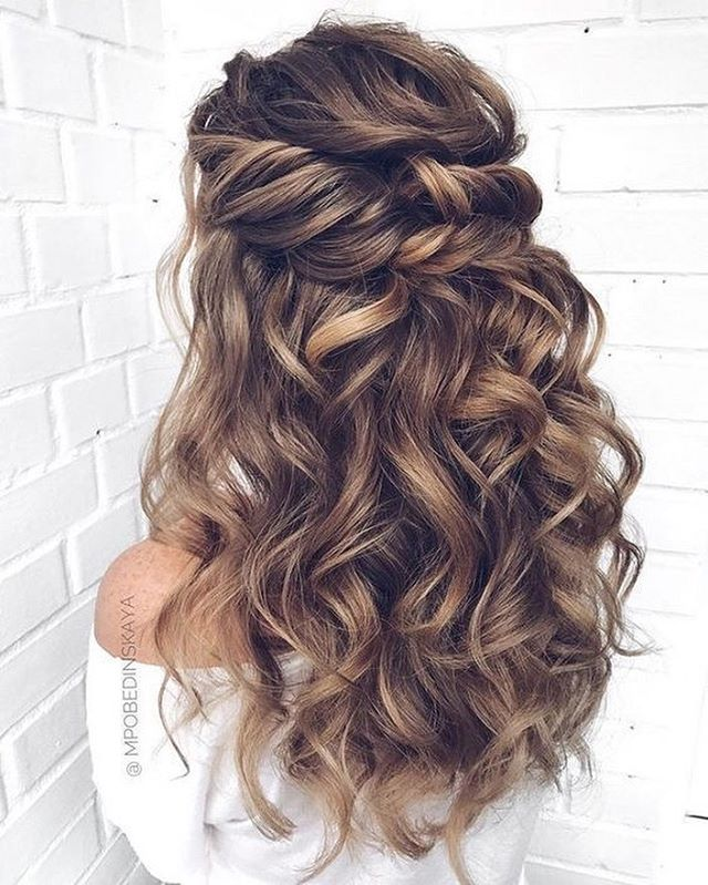 43 Gorgeous Half Up Half Down Hairstyles
