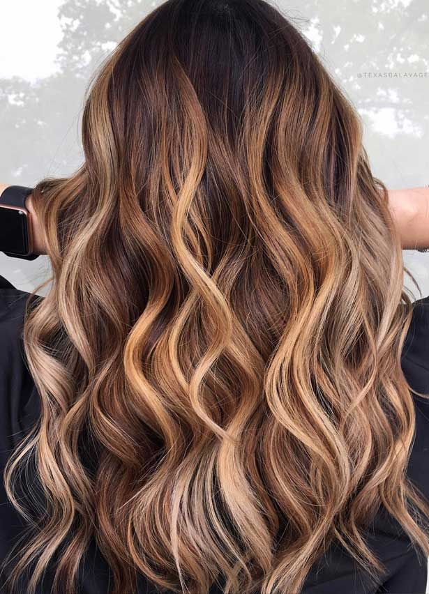 Trendy Fall and Winter Hair Color Ideas