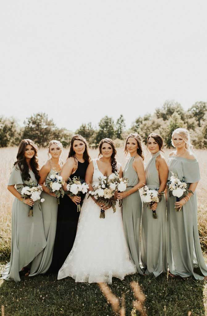 sage bridesmaid dresses, bridesmaid dresses #sagewedding #bridesmaiddresses