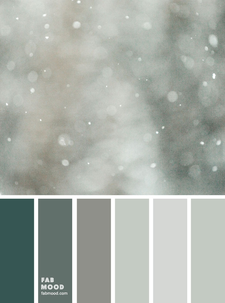 Winter Mood Palette – Misty Green