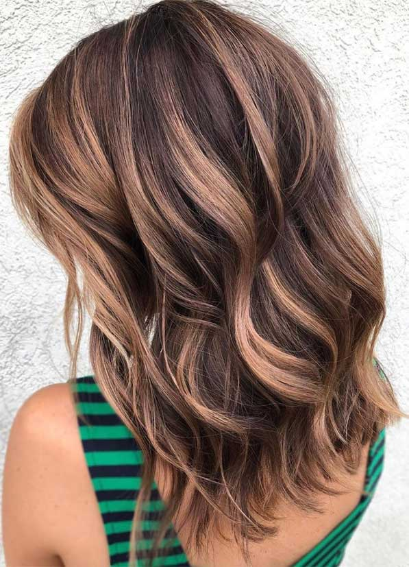blonde hair color, brown hair color, balayage hair blonde, subtle blonde balayage, blonde balayage on dark hair, light blonde balayage, warm blonde balayage, brown hair color ideas, light brown hair color #brownhair #balayagehairblonde