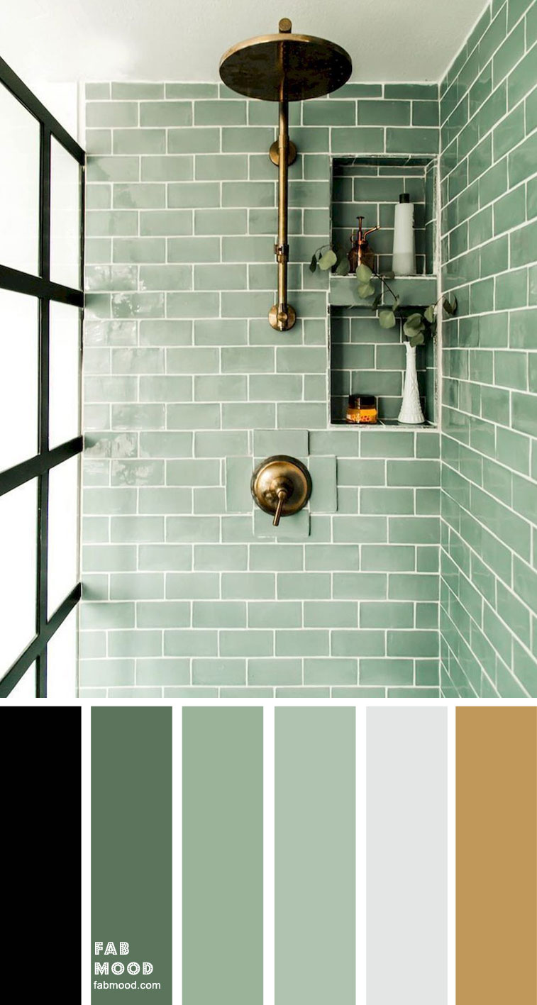 8 Beautiful Color Schemes For Bathroom Color Ideas