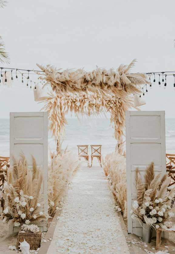 These Fab Boho Wedding Altars, Arches and Backdrops that make us swoon 5