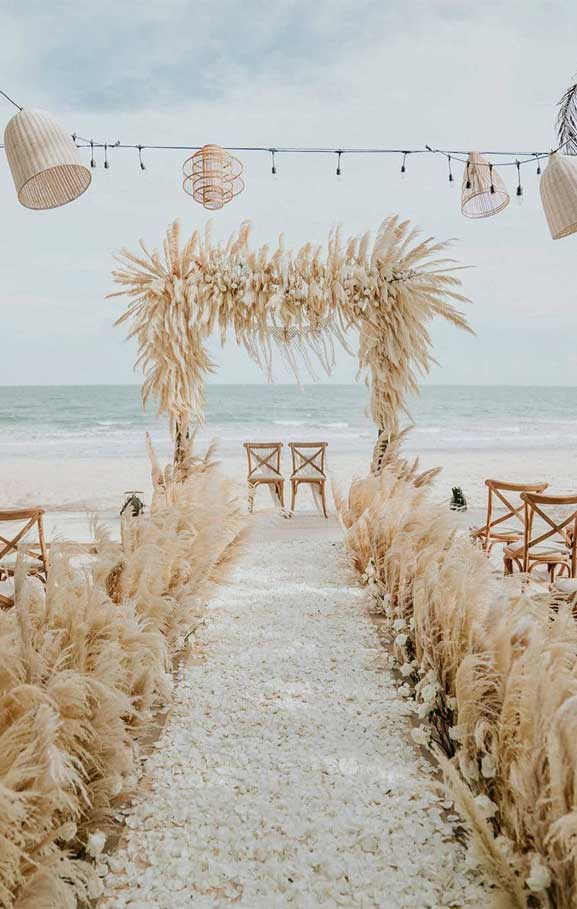 These Fab Boho Wedding Altars, Arches and Backdrops that make us swoon 9