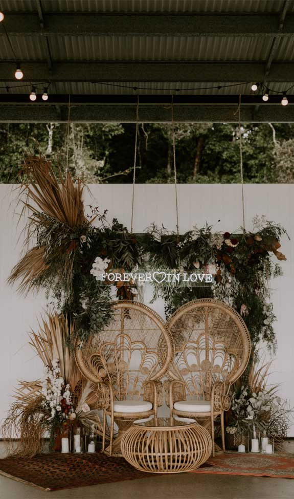 These Fab Boho Wedding Altars, Arches and Backdrops that make us swoon 7
