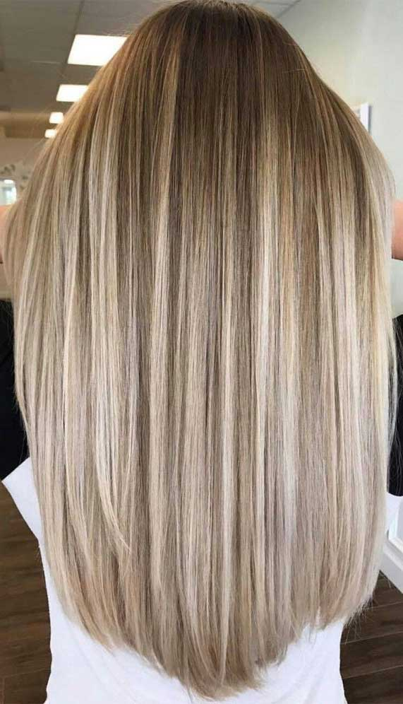 brown hair color, brown hair color,balayage hair blonde, subtle blonde balayage, blonde balayage on dark hair, light blonde balayage, warm brown balayage #brownhair #balayagehairblonde hair color ideas, hair color trends 2020