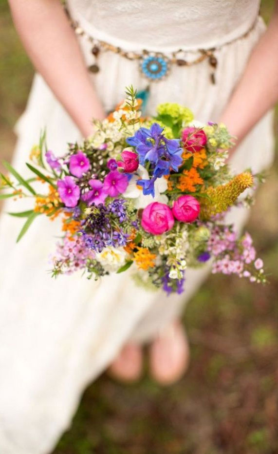 Beautiful Bouquets For Summer Wedding To Obsess Over